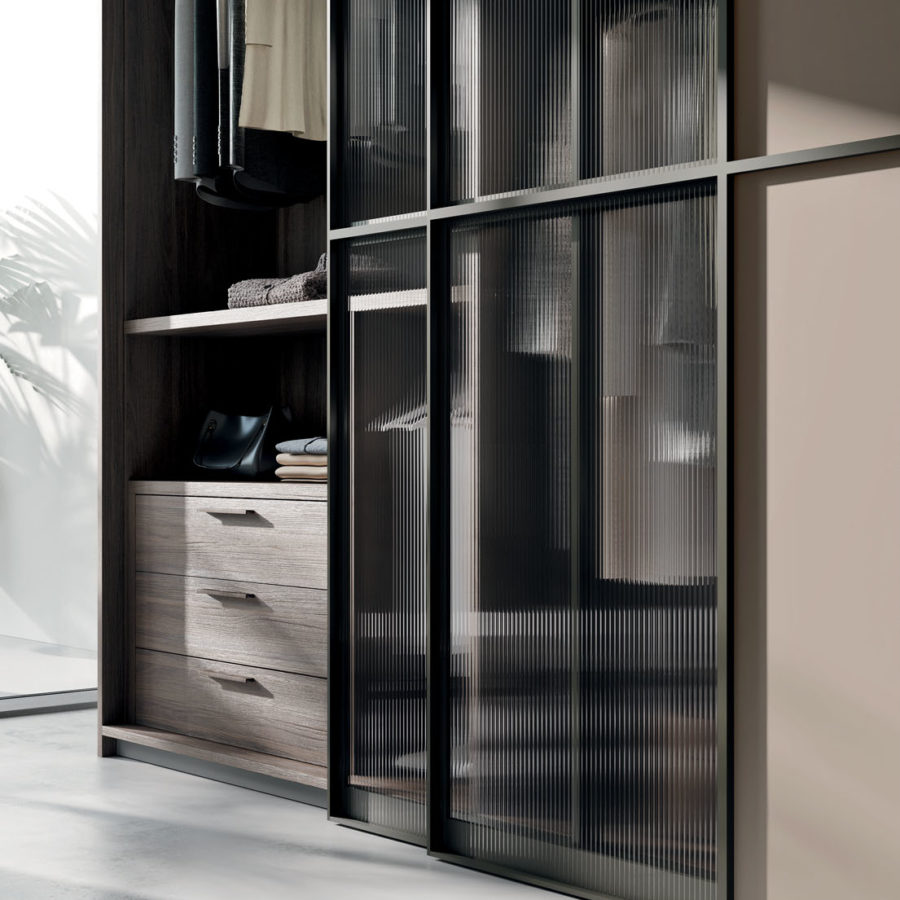 Cubi Glass sliding door Orme