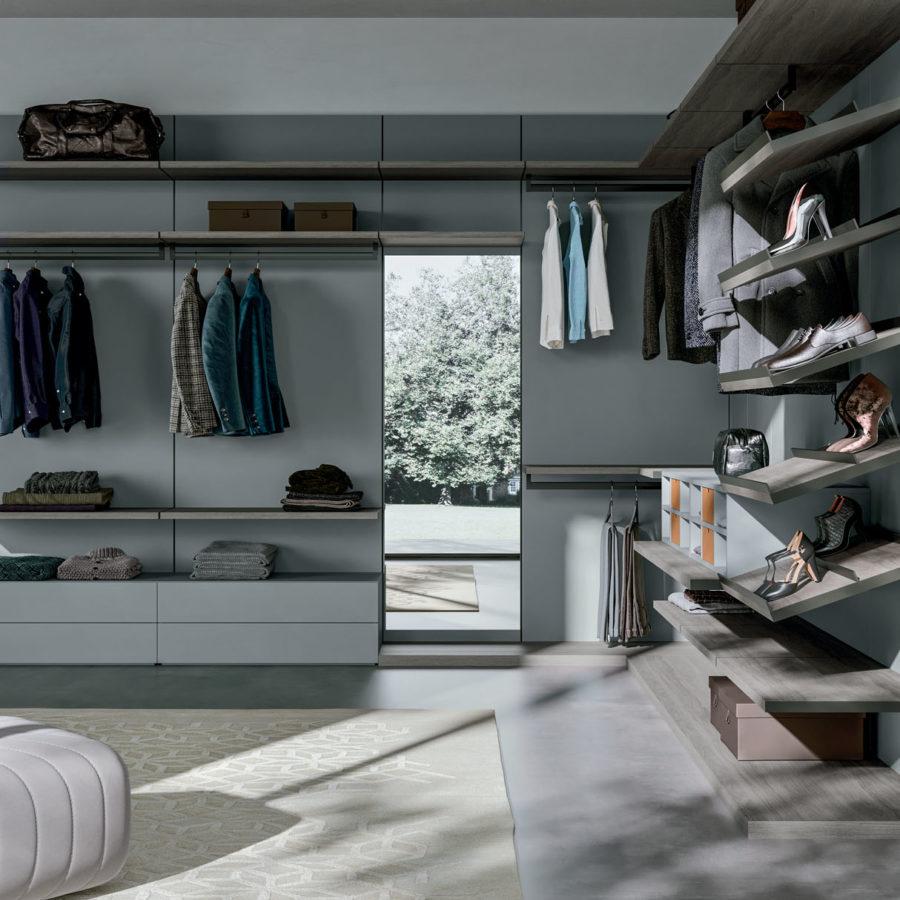 Boiserie walk-in closet Orme