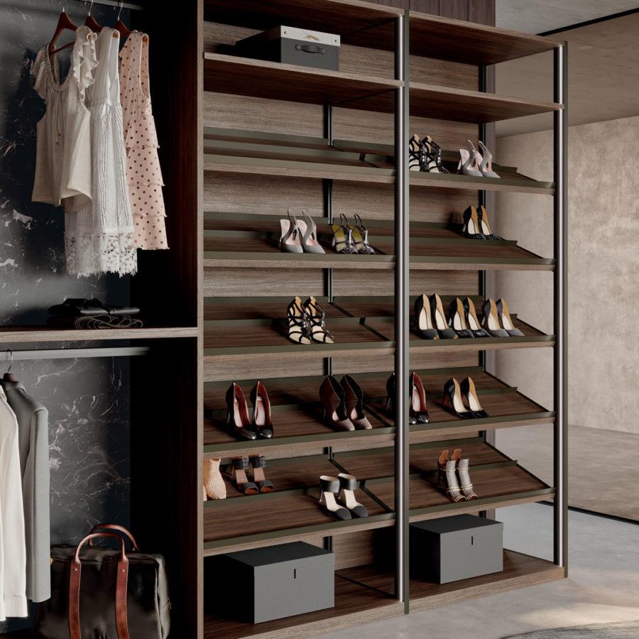 Skeletro walk-in closet Orme